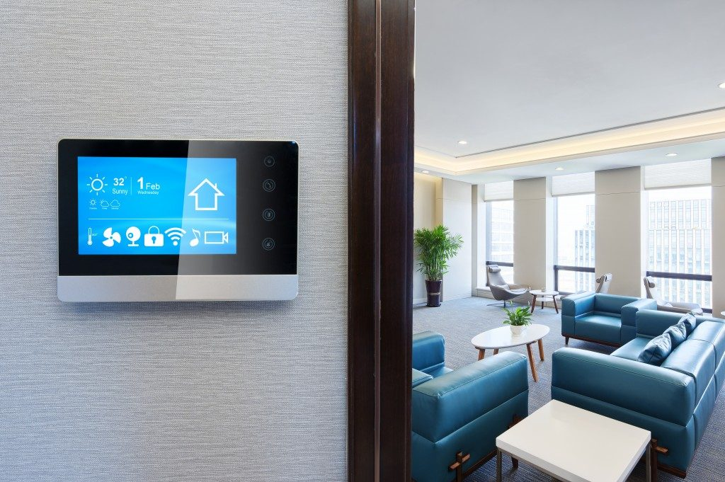 modern home with smart devices