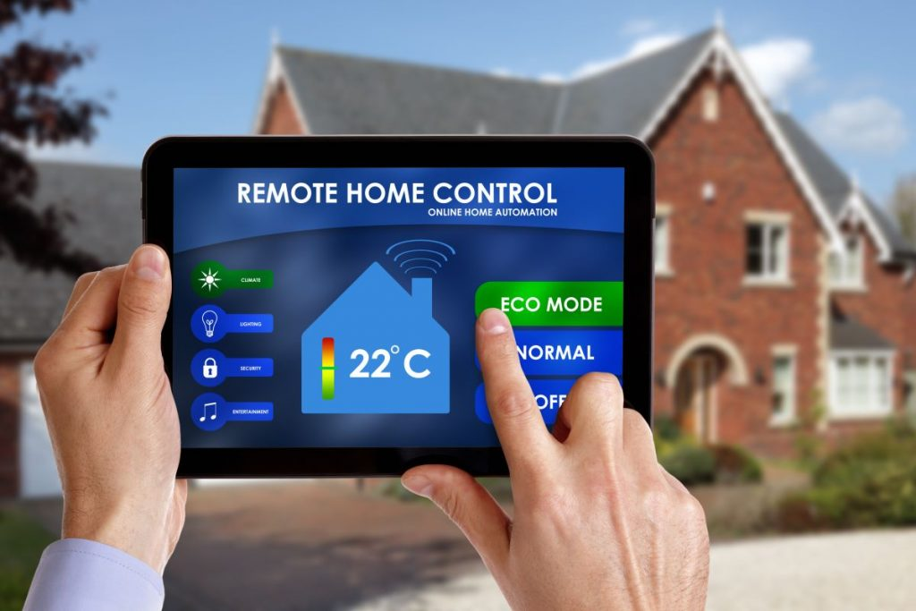 remote control home tablet