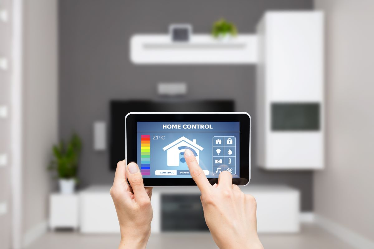 smart home remote control tablet